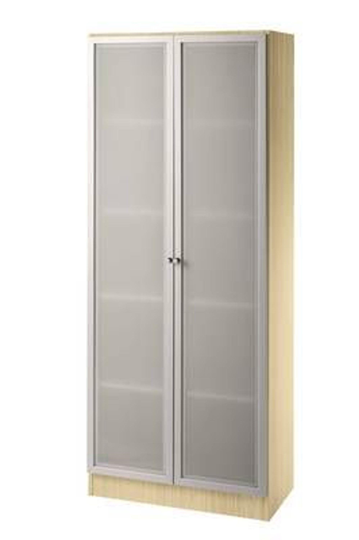 aktenschrank schrank mit glast ren b roschrank 5 oh. Black Bedroom Furniture Sets. Home Design Ideas