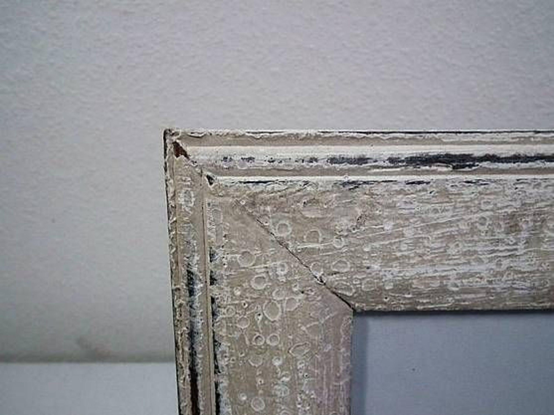 fotorahmen bilderrahmen holz auf alt gemacht grau wei shabbystil 23 x 17 5 kaufen bei. Black Bedroom Furniture Sets. Home Design Ideas