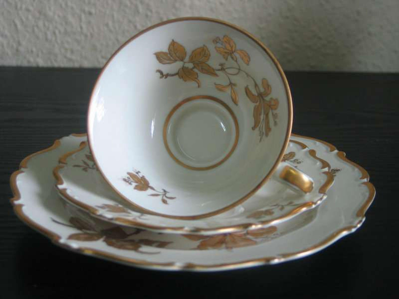 bavaria schirnding porzellan set kaffeetasse unterteller und kuchenteller kaufen bei. Black Bedroom Furniture Sets. Home Design Ideas
