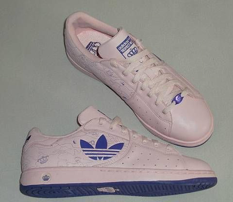 Adidas Missy Elliott Respect Me Sneakers Schuhe rosa lila 42 Uk8 neu selten