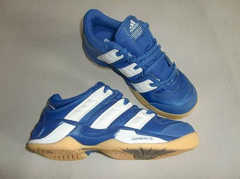 Adidas Handballschuhe Court Stabil 2 Junior Kids Gröss 32 blau Neu
