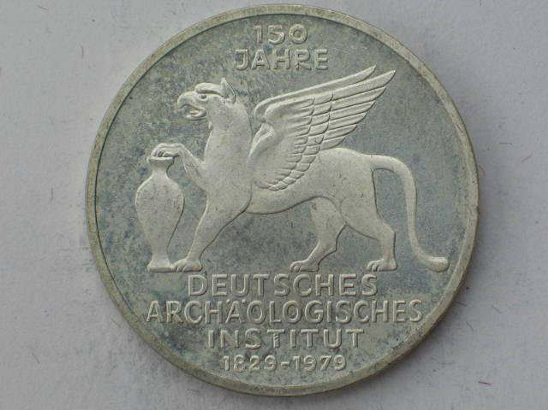 5 Dm Gedenkmünze 150 Jahre Deutsches Archäologisches Institut Aus