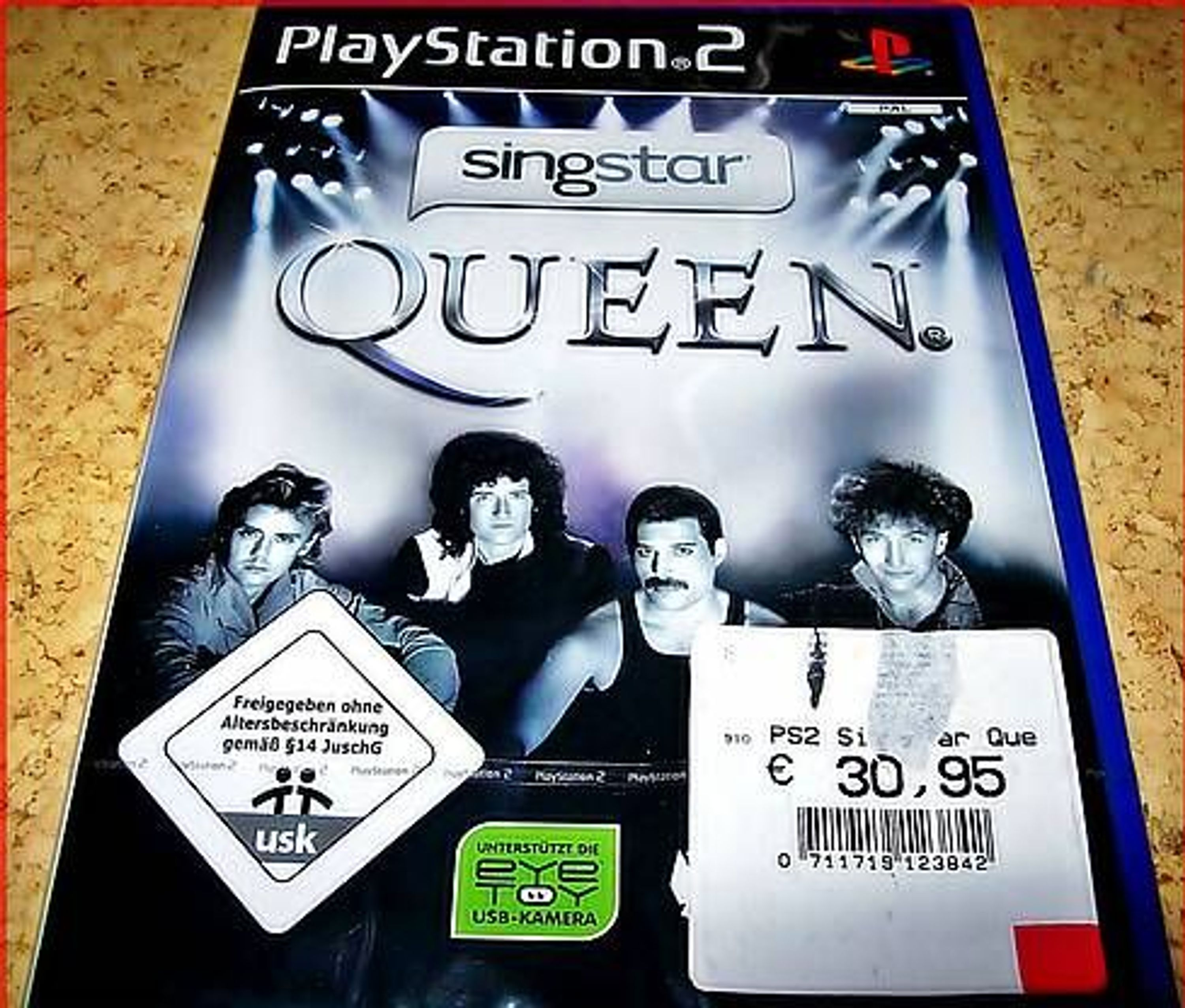 ps2 ps3 singstar queen deutsche version neu ovp. Black Bedroom Furniture Sets. Home Design Ideas