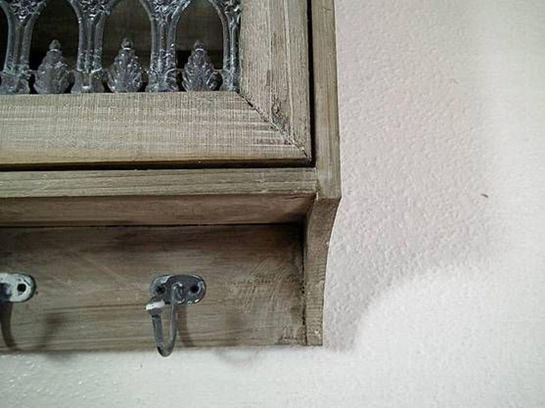 schl sselkasten schl sselk stchen holz grau wei auf alt gemacht kaufen bei. Black Bedroom Furniture Sets. Home Design Ideas