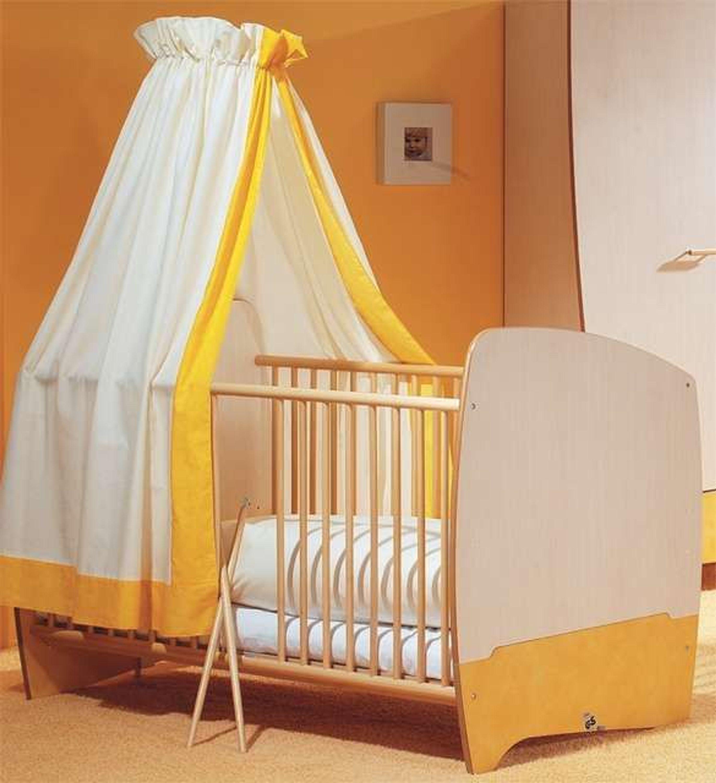 Taube kinderzimmer babyzimmer fantasia ahorn gelb bett kommode schrank kaufen bei - Babyzimmer gelb ...