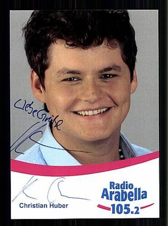 Christian Huber Autogrammkarte Original Signiert Bek Aus