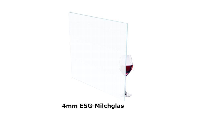 Esg Milchglas Sicherheitsglas 4mm Glasscheibe Glasplatte