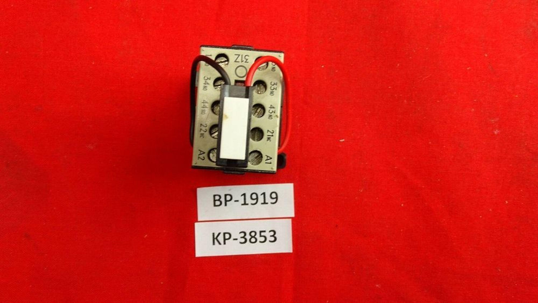 Siemens 3tj1001-0bb4 hilfsschütz 3s+1ö