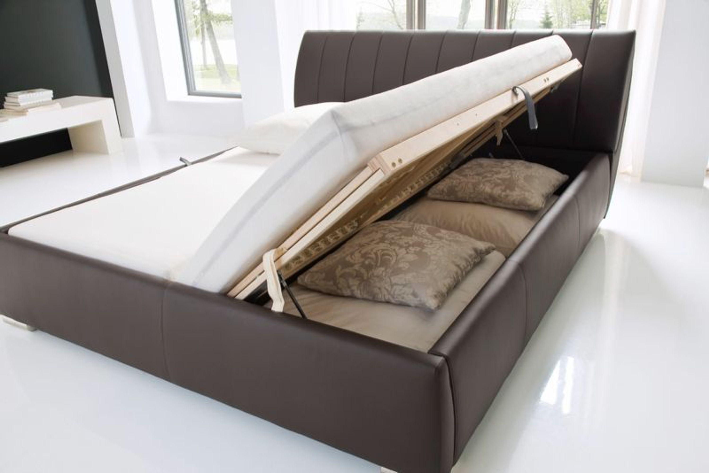 Polster Bett Doppelbett Bern In 180x200 Cm Meise Schwarz Kaufen Bei