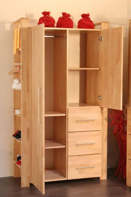 taube kinderzimmer babyzimmer gustav schrank 2 t rig buche massiv kaufen bei. Black Bedroom Furniture Sets. Home Design Ideas