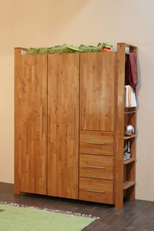 taube kinderzimmer babyzimmer gustav schrank 3 t rig erle massiv kaufen bei. Black Bedroom Furniture Sets. Home Design Ideas