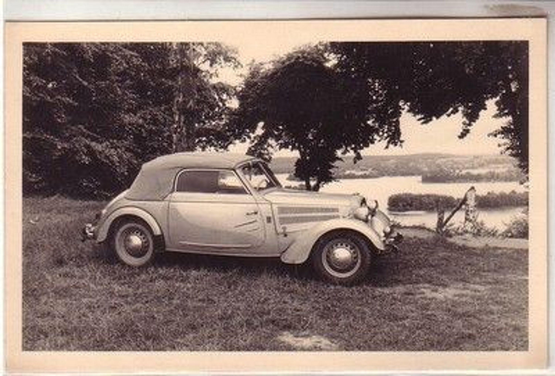 08492 original foto altes automobil ifa f8 cabrio um 1950. Black Bedroom Furniture Sets. Home Design Ideas