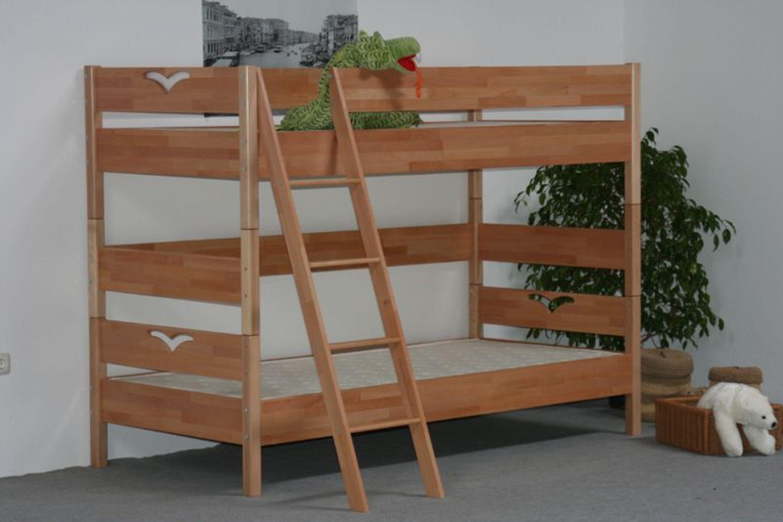 Taube jugendm bel oliver etagenbett 90 x 200 buche - Taube jugendmobel ...