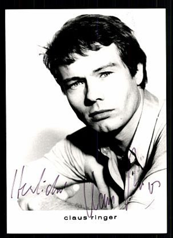 Claus Ringer Autogrammkarte 80er Jahre Original Signiert