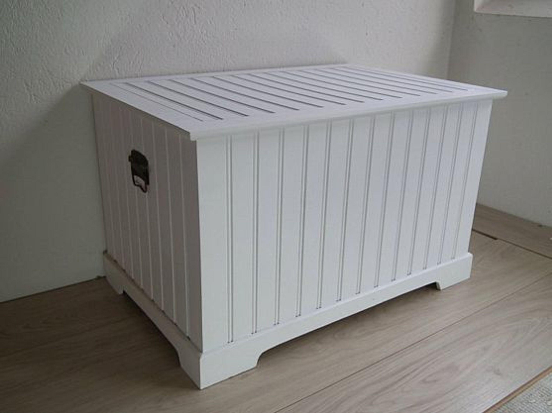truhe holztruhe w schetruhe wei holz mdf landhausstil im shabbystil gr kaufen bei. Black Bedroom Furniture Sets. Home Design Ideas