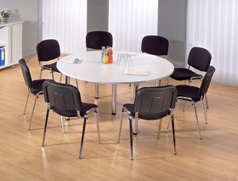 Konferenztisch Tisch rund 160 cm Besprechungstisch Seminartisch ...