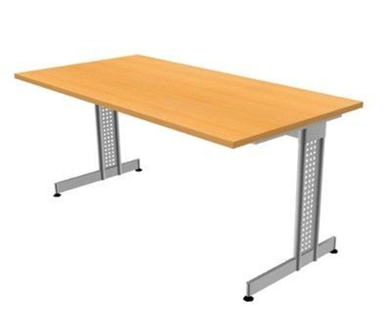schreibtisch essen 160 x 80 cm b rotisch 6 farben b rom bel tisch kaufen bei. Black Bedroom Furniture Sets. Home Design Ideas