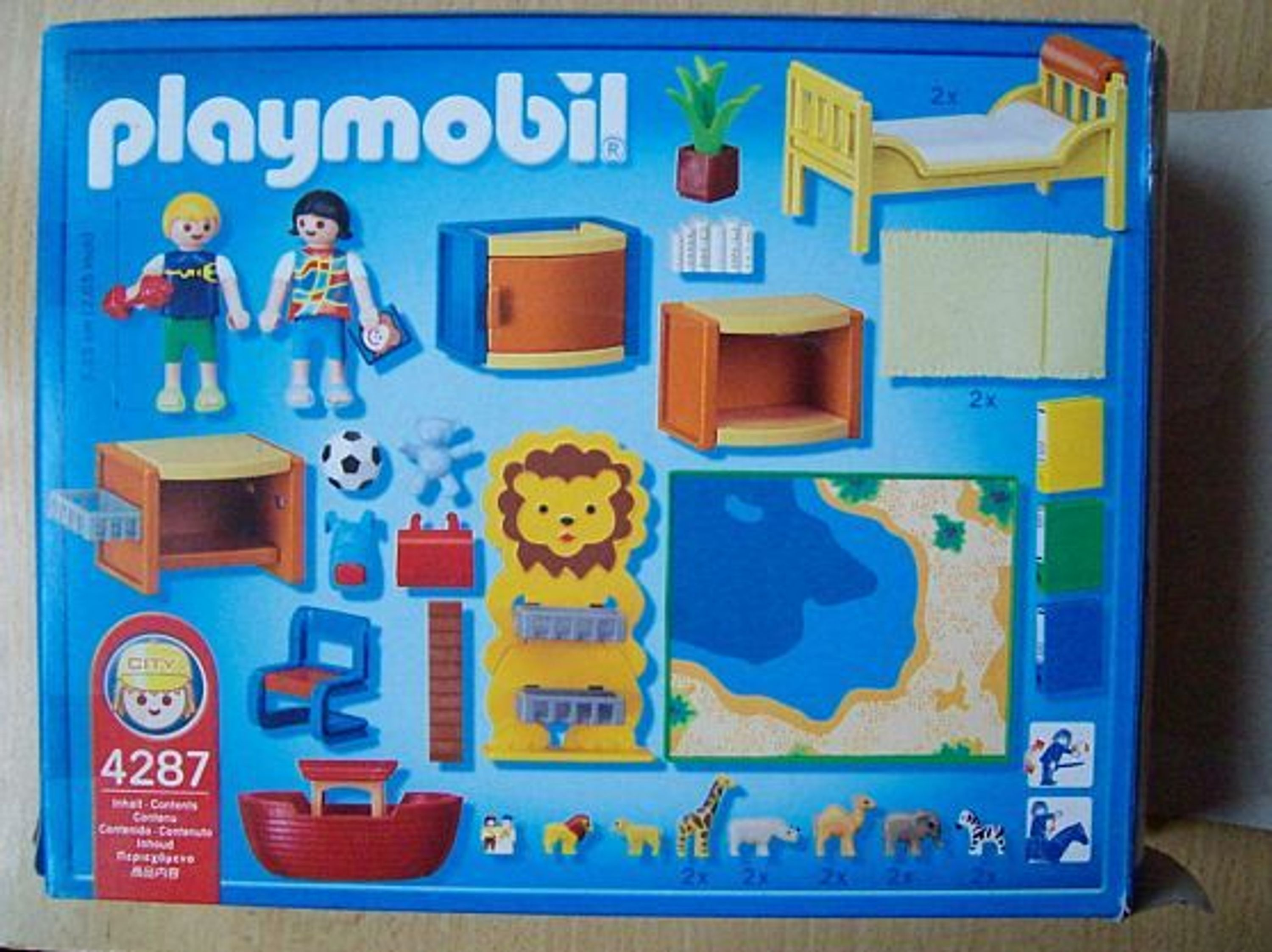 Playmobil 4287 kinderzimmer spielzimmer for Playmobil kinderzimmer 4287