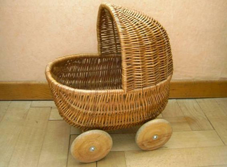 Stubenwagen Kaufen : Hübscher älterer korb puppenwagen stubenwagen kaufen bei hood