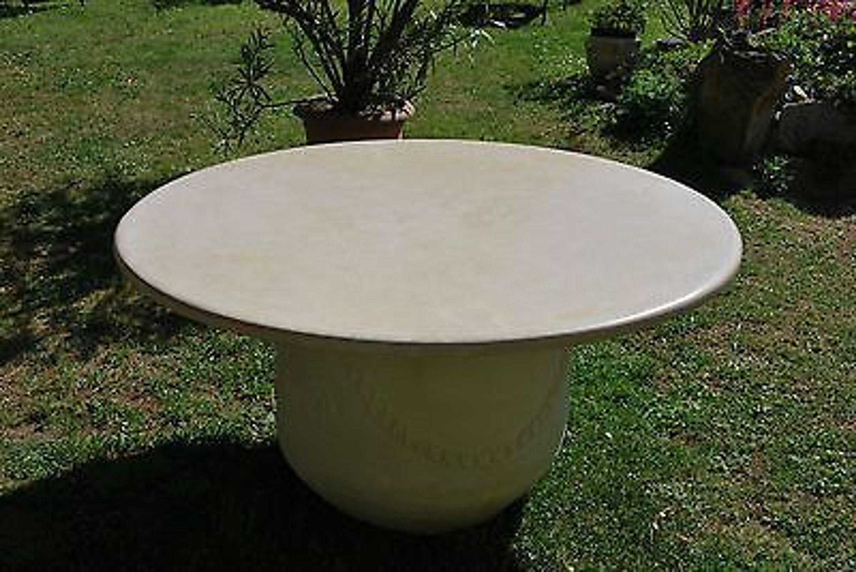 natursteinplatte marmorplatte tischplatte brunnenabdeckung rund kaufen bei. Black Bedroom Furniture Sets. Home Design Ideas