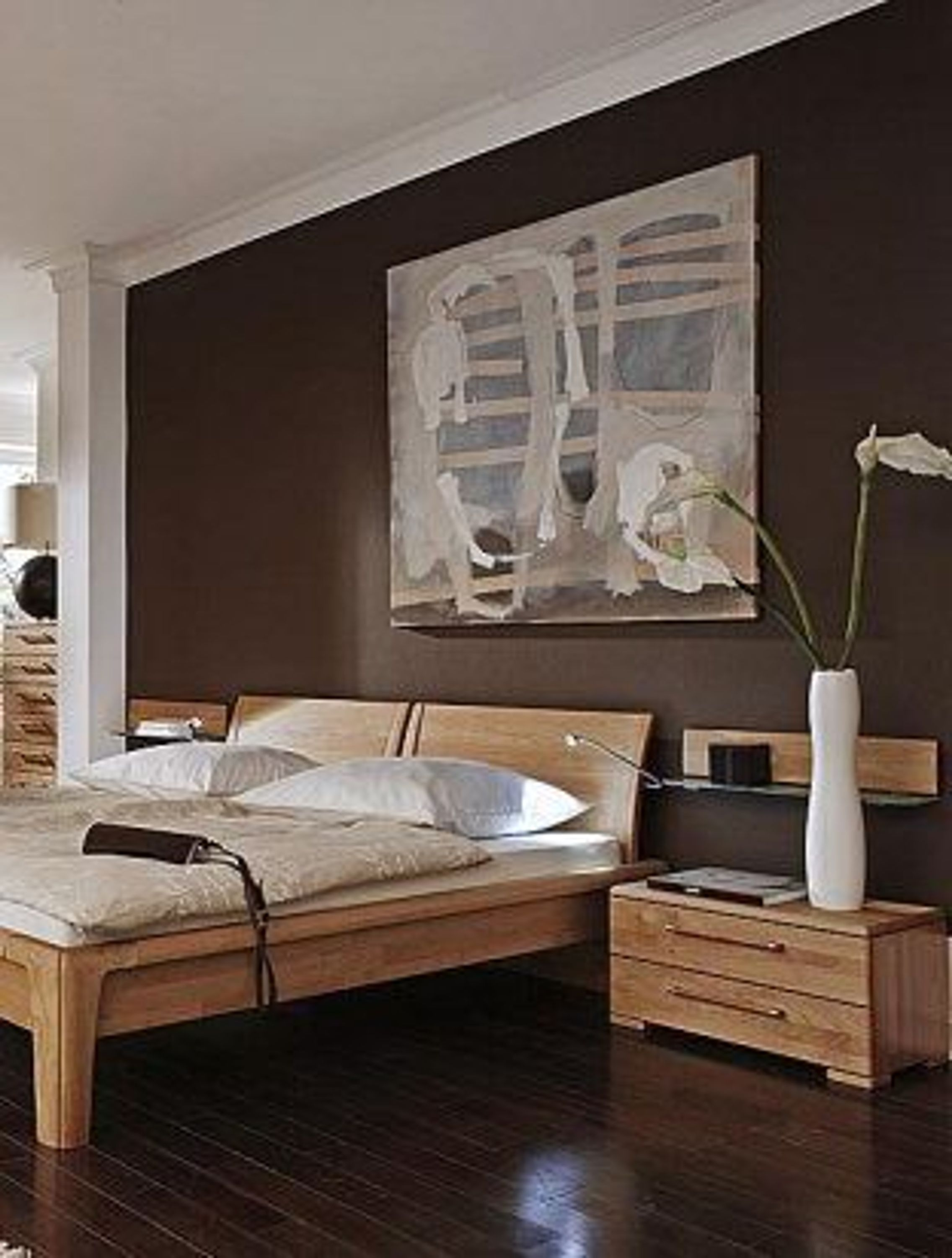 schlafzimmer cortina plus erle massiv 160x200 kaufen bei. Black Bedroom Furniture Sets. Home Design Ideas