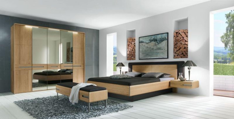 thielemeyer schlafzimmer casa eiche massiv 180x190 kaufen bei. Black Bedroom Furniture Sets. Home Design Ideas