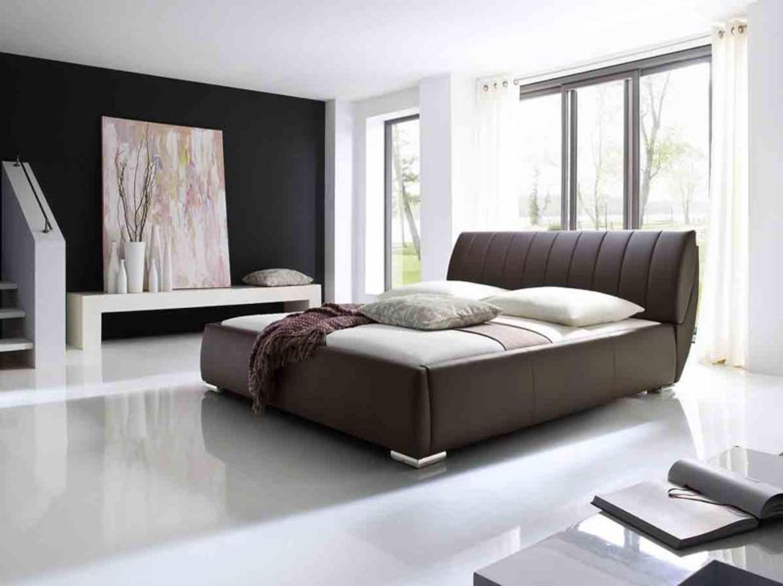 bern 180x200 cm polsterbett doppelbett braun kaufen bei. Black Bedroom Furniture Sets. Home Design Ideas