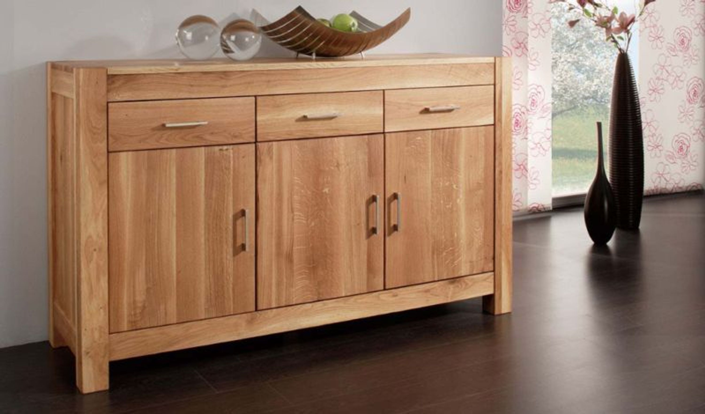 manchester sideboard wildeiche massiv ge lt kaufen bei. Black Bedroom Furniture Sets. Home Design Ideas