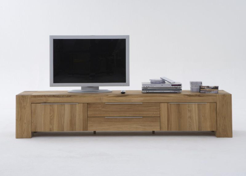lowboard balder in eiche massiv ge lt kaufen bei. Black Bedroom Furniture Sets. Home Design Ideas