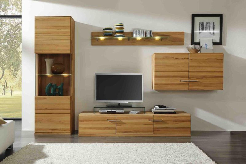 oregon wohnwand kernbuche massiv kaufen bei. Black Bedroom Furniture Sets. Home Design Ideas