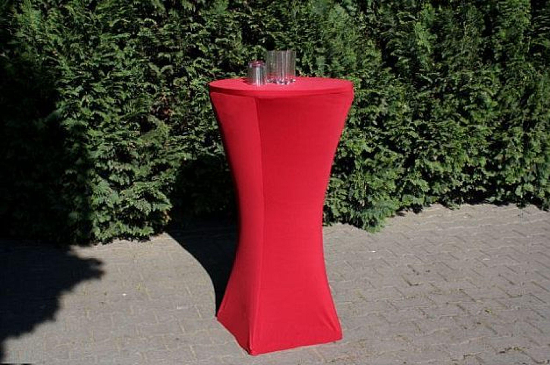 husse f r stehtisch 70 85 cm stretch in rot h he 115 cm kaufen bei. Black Bedroom Furniture Sets. Home Design Ideas