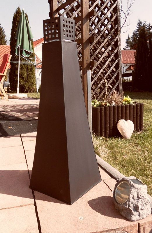 gro e lfackel llampe laterne garten fackel metall windlicht versandfrei kaufen bei. Black Bedroom Furniture Sets. Home Design Ideas
