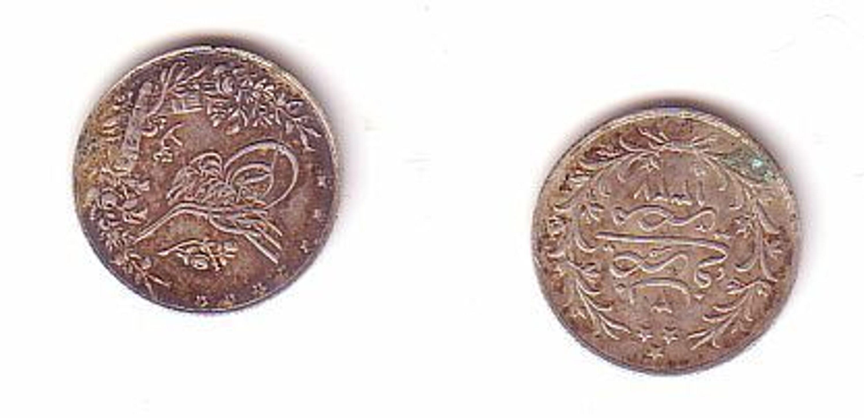 5 Kurus Silber Münze Türkei Osmanisches Reich Gebraucht Kaufen Bei