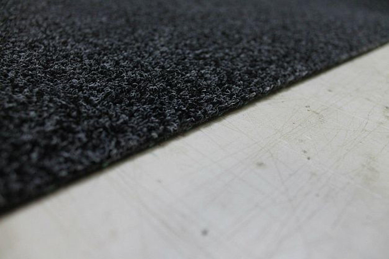 kunstrasen rasen boot teppich anthrazit 1 a mit. Black Bedroom Furniture Sets. Home Design Ideas