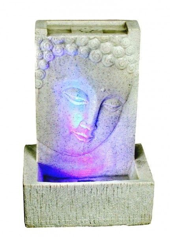 buddha zimmerbrunnen 4 farbige led lampe raumbel fter. Black Bedroom Furniture Sets. Home Design Ideas