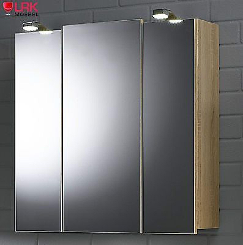 5423 badezimmer spiegelschrank salona mit led beleuchtung in verschied farben kaufen bei. Black Bedroom Furniture Sets. Home Design Ideas