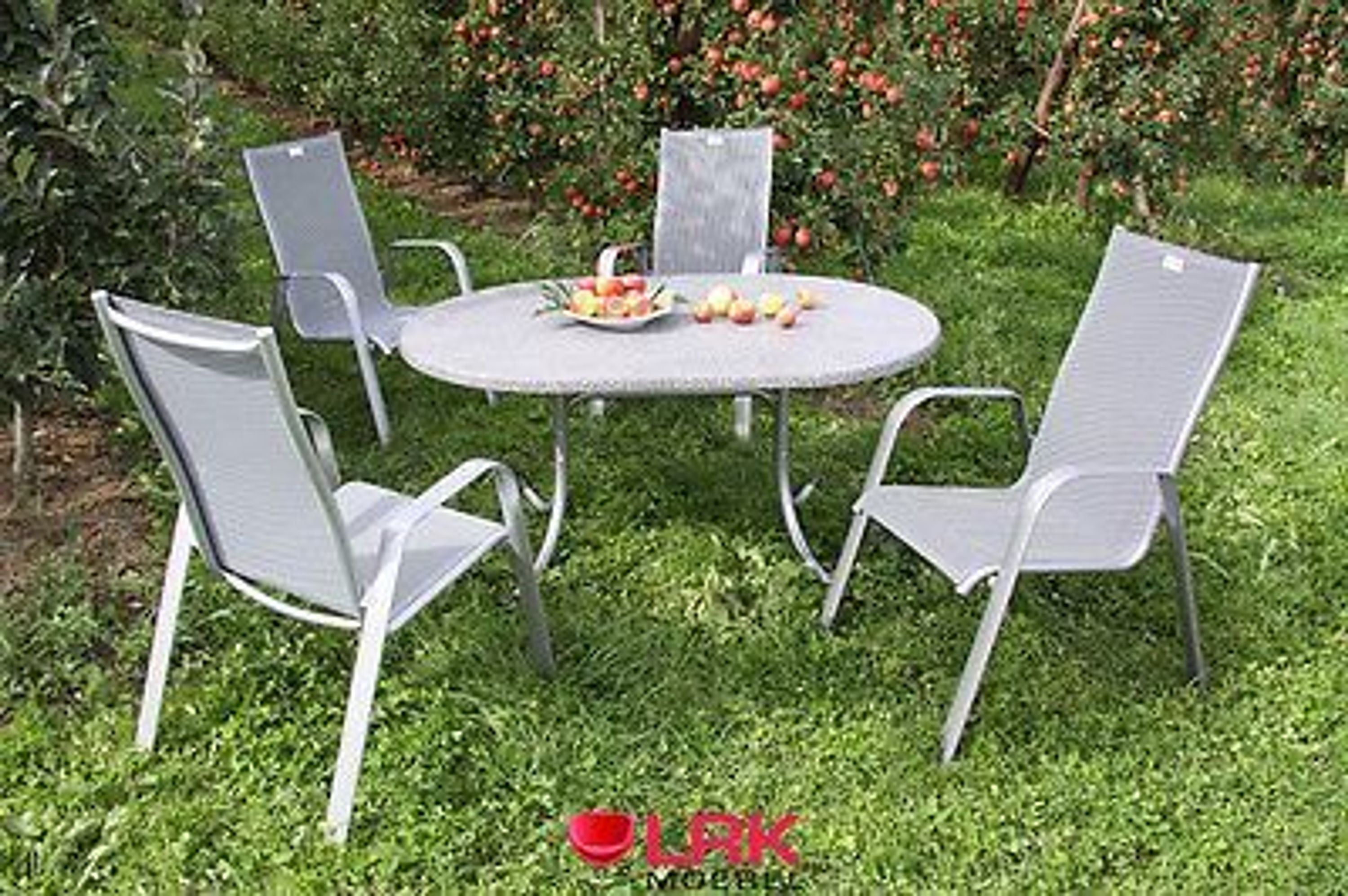acamp gartentisch tisch gartenm bel m bel garten klappbar oval 146x94 cm neu kaufen bei. Black Bedroom Furniture Sets. Home Design Ideas