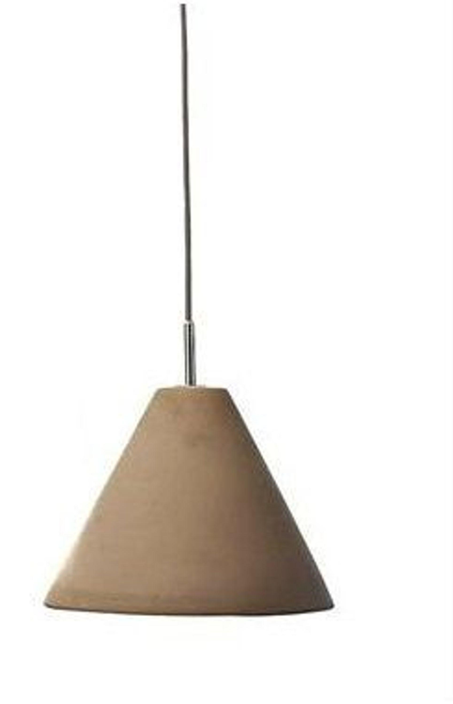 designer deckenleuchte pendelleuchte beton lampe grau. Black Bedroom Furniture Sets. Home Design Ideas