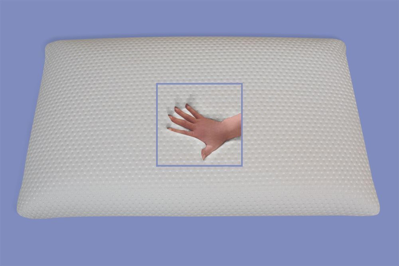 gel gelschaum kopfkissen nackenst tzkissen soft weich 80x40 gegen nackenschmerzen kaufen bei. Black Bedroom Furniture Sets. Home Design Ideas