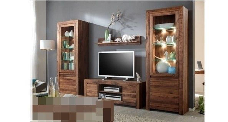 anbauwand wohnwand wohnzimmerschrank wohnzimmer amerik. Black Bedroom Furniture Sets. Home Design Ideas