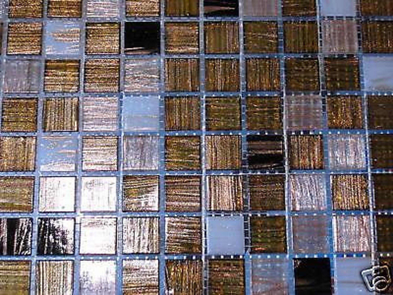 glasmosaik fliesen goldene seide goldregen s3 bad dusche sauna pool mosaik kaufen bei. Black Bedroom Furniture Sets. Home Design Ideas