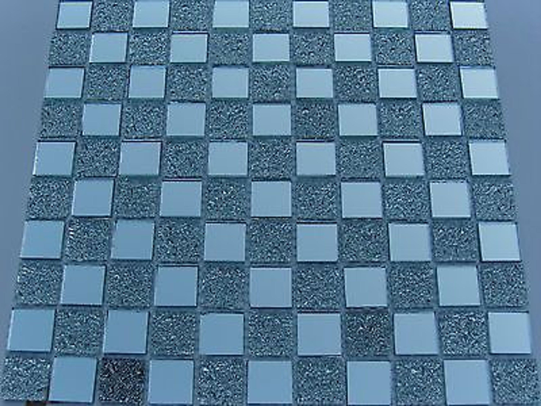 1 qm glasmosaik mosaik fliesen klarglas spiegel nm02 klarglas spiegelmosaik kaufen bei. Black Bedroom Furniture Sets. Home Design Ideas
