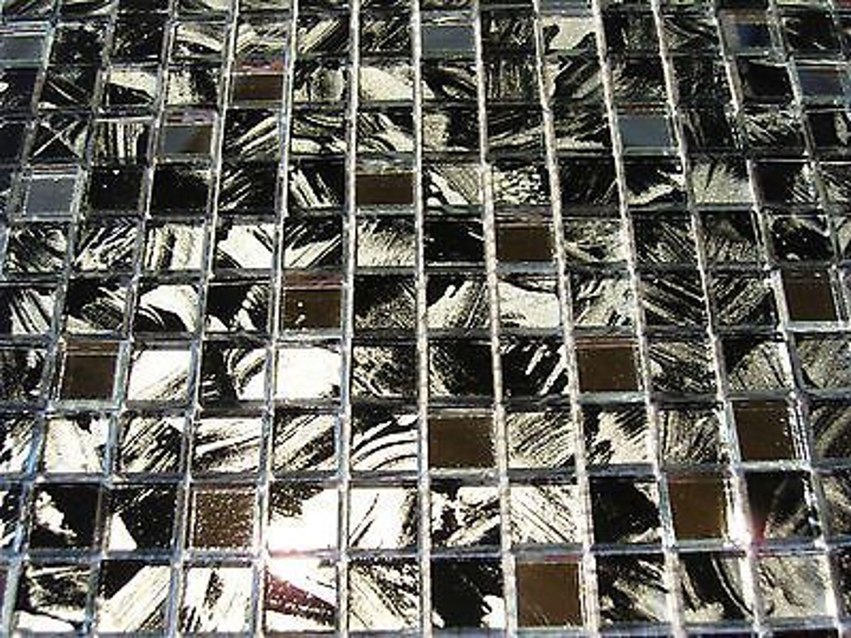 glasmosaik mosaik fliesen klarglas schwarz silber 1 5x1 5 cm spiegel kenia 2 kaufen bei. Black Bedroom Furniture Sets. Home Design Ideas