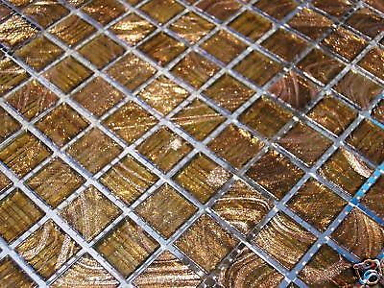 glasmosaik fliesen mosaik goldene seide goldregen top gold. Black Bedroom Furniture Sets. Home Design Ideas
