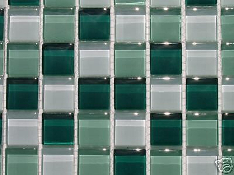 glas mosaik fliesen 8mm klarglas ber 30 sorten gr n kaufen bei. Black Bedroom Furniture Sets. Home Design Ideas