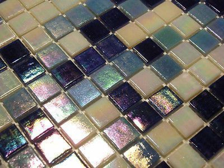 glasmosaik fliesen mosaik perlmutteffekt blau weiss perlmutt bad pool dusche kaufen bei. Black Bedroom Furniture Sets. Home Design Ideas