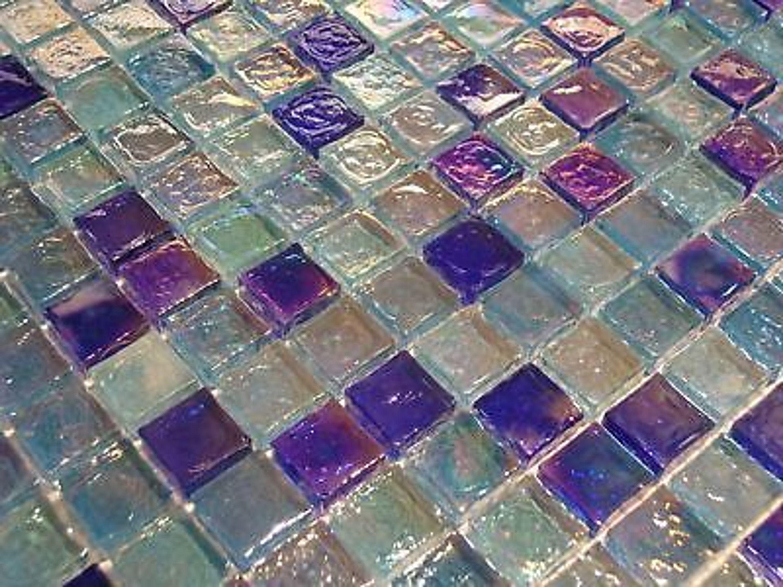 glasmosaik mosaik fliesen klarglas perlmutt metall z058 kaufen bei. Black Bedroom Furniture Sets. Home Design Ideas