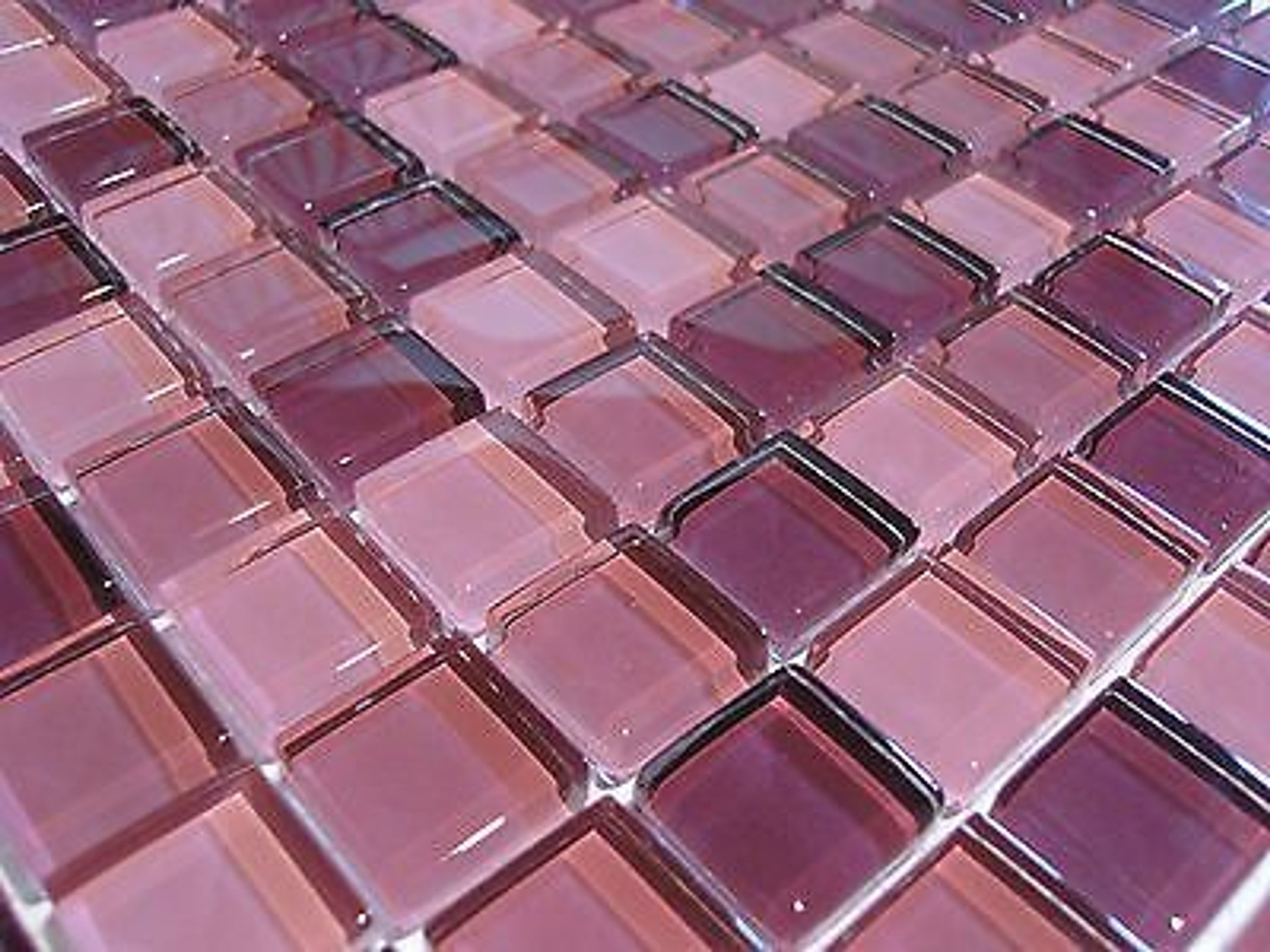 glasmosaik mosaik fliesen klarglas 8mm brombeer pink rose lila bad dusche 1qm kaufen bei. Black Bedroom Furniture Sets. Home Design Ideas