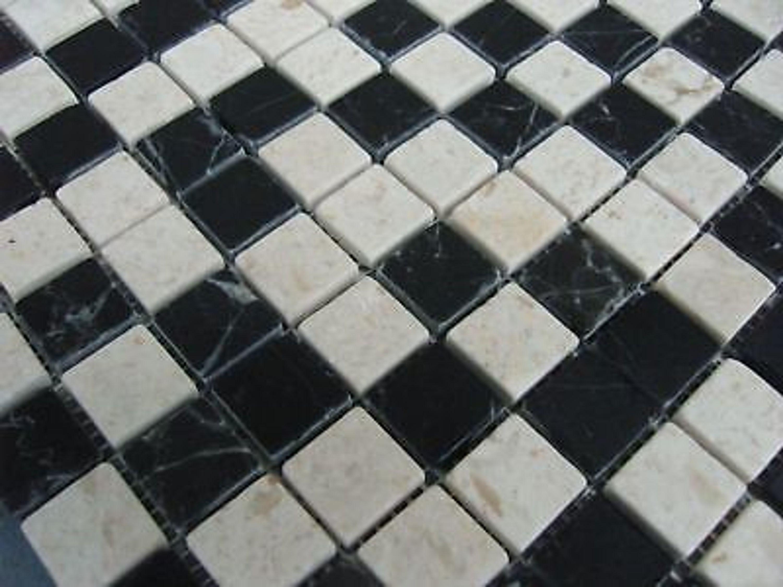 1 qm naturstein marmormosaik mosaik fliesen bad st0402 kaufen bei. Black Bedroom Furniture Sets. Home Design Ideas