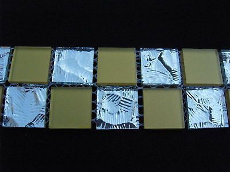 m6 glas bord re fliesen mosaik spiegel gold 5 2x30 kaufen bei. Black Bedroom Furniture Sets. Home Design Ideas